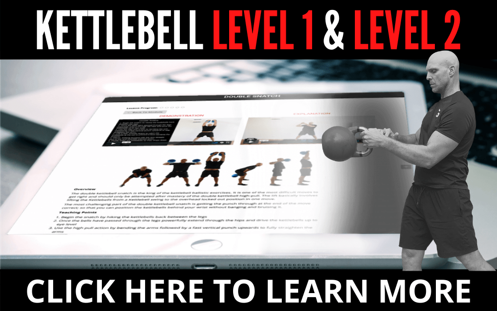 KETTLEBELL LEVEL 1 AND 2